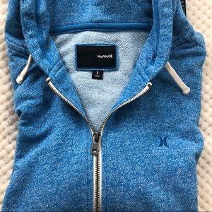 Hurley hooded zip-up sweatshirt